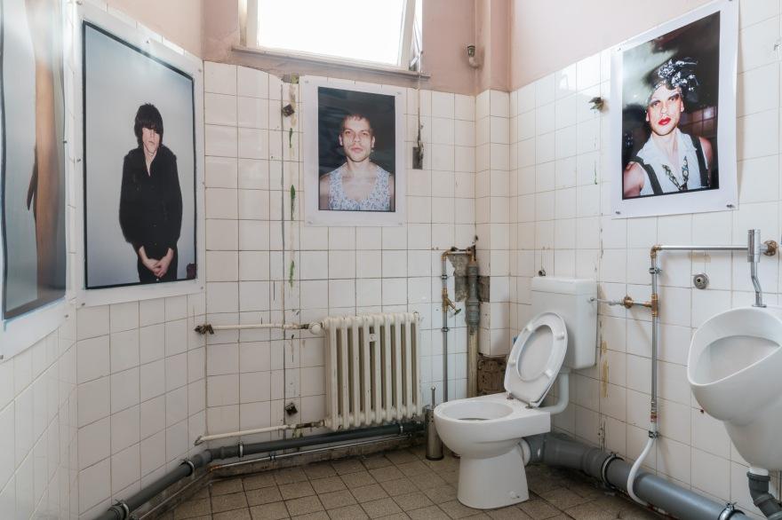 Matthias Hamann Toilet Installation 2